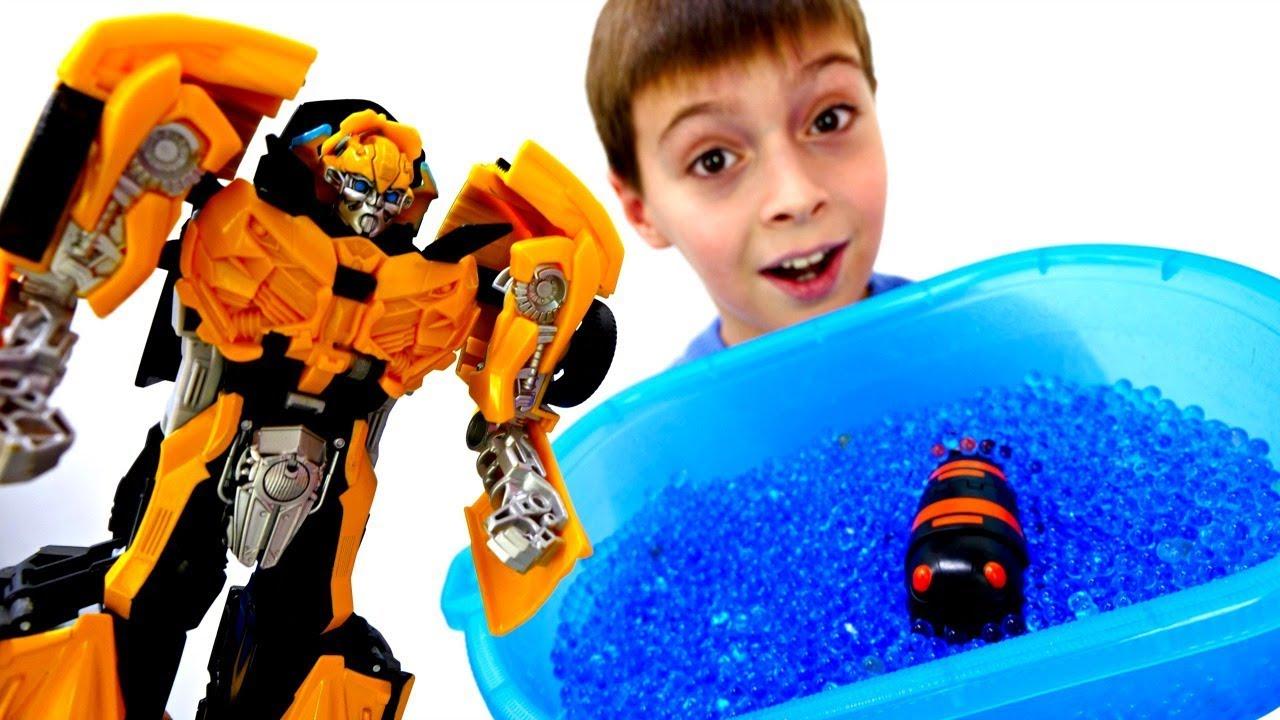 Роботы Трансформеры - Секретное зелье для Биска. Мультики ...