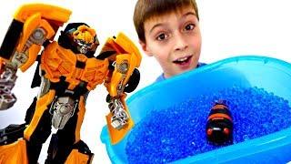 Роботы Трансформеры - Секретное зелье для Биска. Мультики для мальчиков