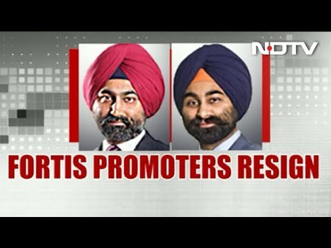 Fortis Healthcare Founders Malvinder Singh, Shivinder Singh Resign From  Board