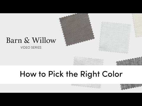 How to pick the right color for your drapes/curtains