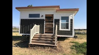 Off The Grid 170 Square Feet Smart Tiny Home Tour