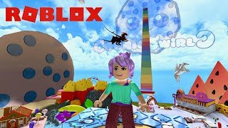 Lets Play CookieSwirlC World on Roblox with NessaLai
