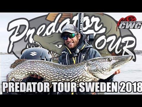 🎣 EUROPEAN PIKE FISHING COMPETITION VÄNERN 🎥 | Team CWC | Predatortour Sweden 2018 | Pike Fishing