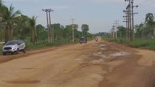 """BURITIS/RO E A """"BURAQUEIRA"""" DA RO 460 - Vídeo 383 - DEUS SEJA LOUVADO"""