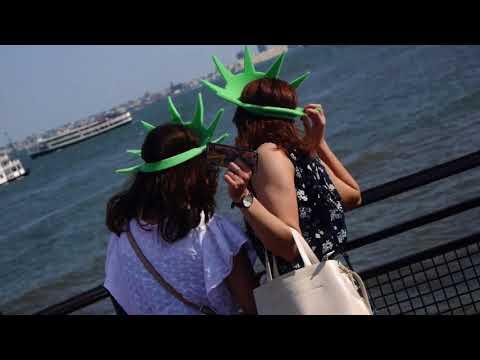 Courtyard NY Manhattan/WTC Hotel Vlog Ep.2: Liberty & Ellis Island Ferries