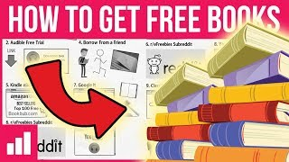 How to Get Free Books ► Top 10 Ways