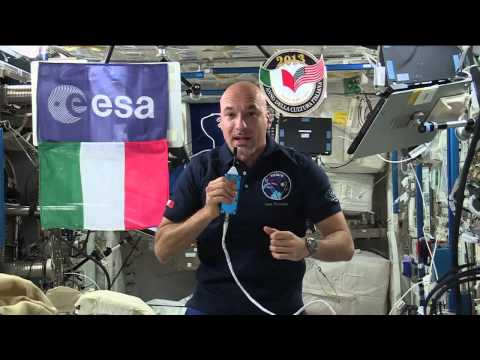 Space Station Crew Member Discusses Life in Space With Italy's Prime Minister