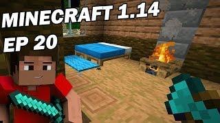 Minecraft Survie 2019: Construction de cabanes dans les arbres ! Ep 20