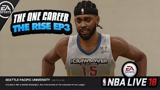 Nba live 18 the one gameplay! opening my first straight fire crate | chapter 3: the crawsover game