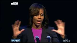 Michelle Obama at the Gaiety Theatre, Dublin (Part 2)