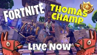 50v50!! 100+ Wins | Let's Get a WIN STREAK! | Ambassador ThomasChamp streams Fortnite!