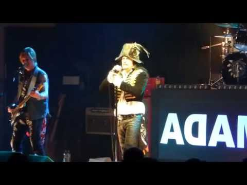 Adam Ant - The Magnificent Five - Glasgow Royal Concert Hall 5th June 2016
