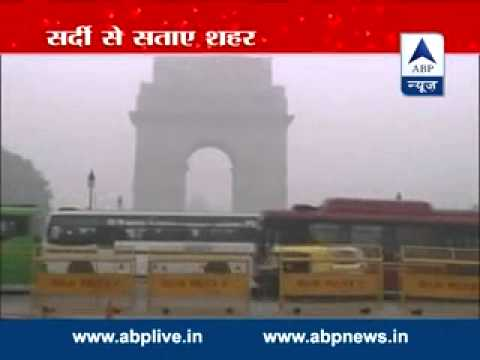 Excessive fog in Delhi, flights, train delayed