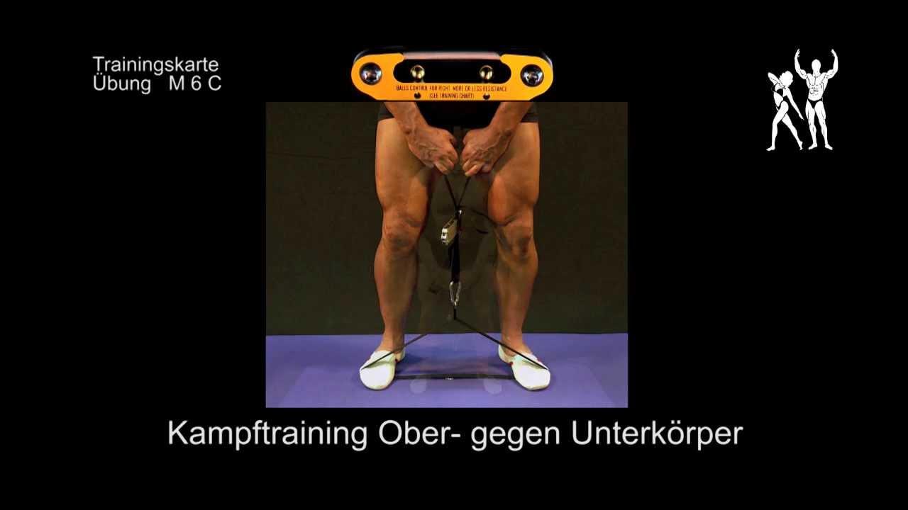 Isokinator Training - Übung M6C Muskelaufbau als Kampftraining ...