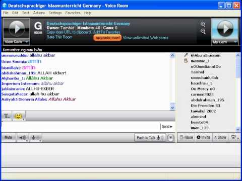 Chat Room Conversion