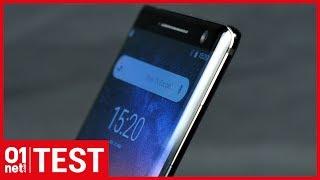 Test Nokia 8 Sirocco : un prix élevé pour des caractéristiques limitées