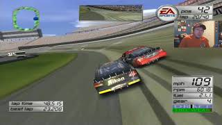 (Funniest Moments Of Season 1) NASCAR Thunder 2003 Career Mode