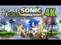 Sonic Generations - 4K Ultra GTX 1060 6GB Intel Core i5 4440 12GB RAM