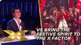 All We Want For Christmas is V5! | Final | X Factor: Celebrity