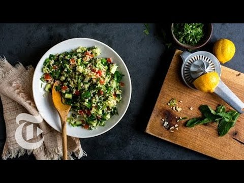 Green Garlic Tabbouleh | Melissa Clark Recipes | The New York Times