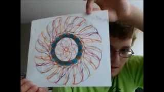 Spiral Stencil Art Milestone video # 2