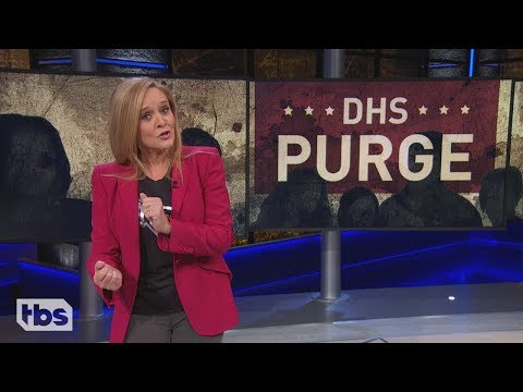 Samantha Bee Calls for a 'Hero' to Prevent Trump From Watching Fox News