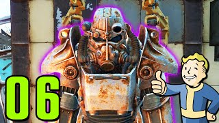 Fallout 4 Walkthrough Gameplay Part 6 - POWER ARMOR (PC)