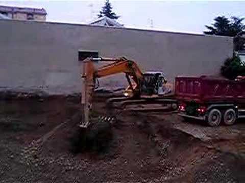 Samsung excavating