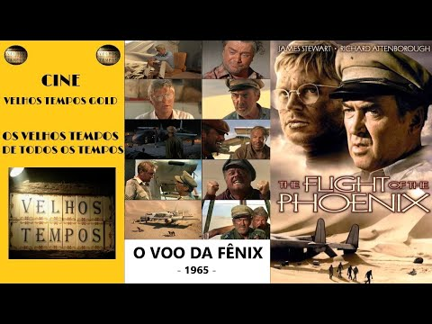 Download O Voo da Fênix (1965), James Stewart, Richard Attenborough & Hardy Krüger, Legendado
