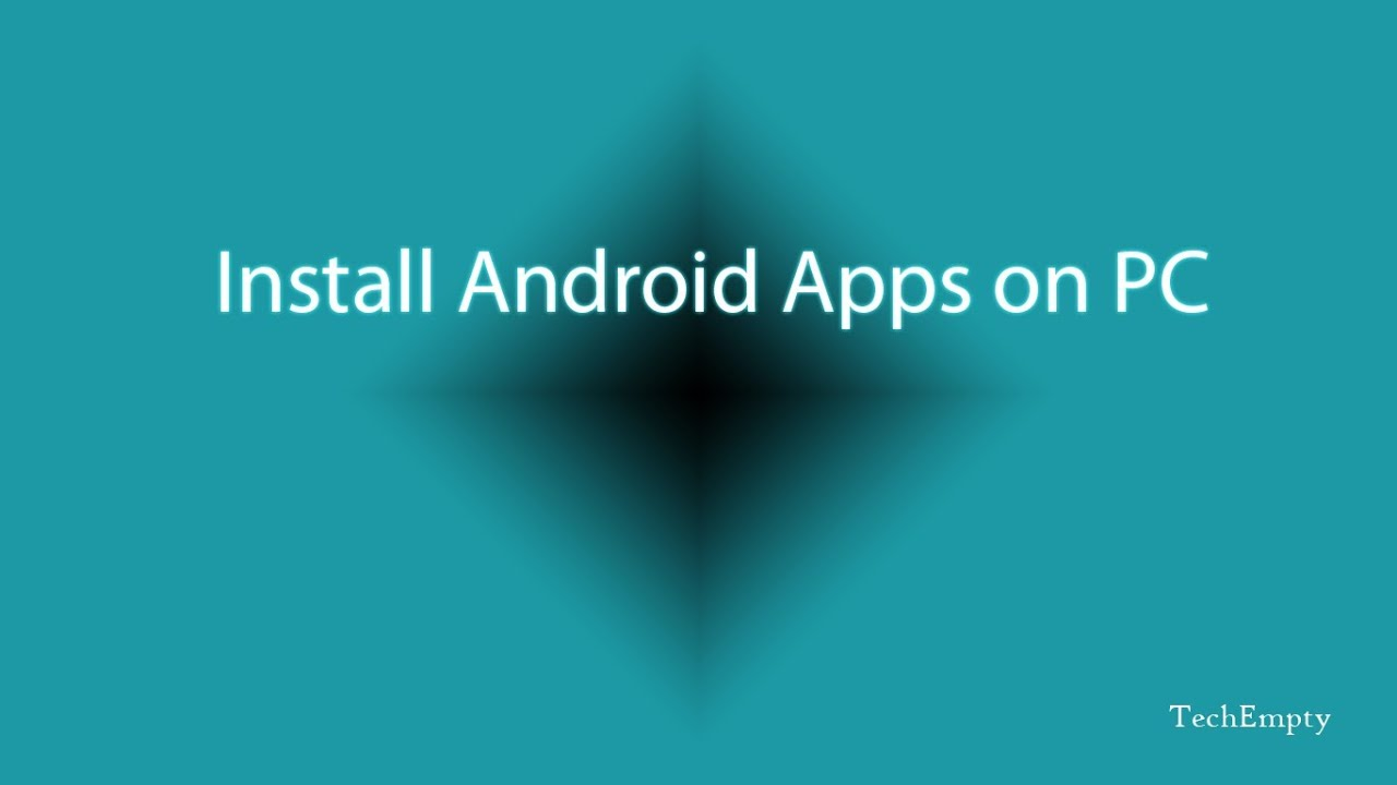 how to make android apps on pc