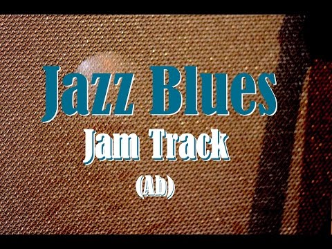 Jazz Blues Backing Track (Ab)