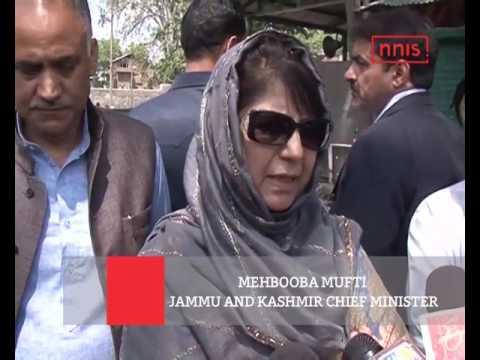 Mehbooba Mufti Visits Anantnag