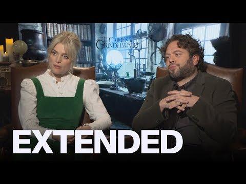 Dan Fogler, Alison Sudol Talk 'Crimes Of Grindelwald' Secrets | EXTENDED