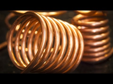 How to make a copper tube coils