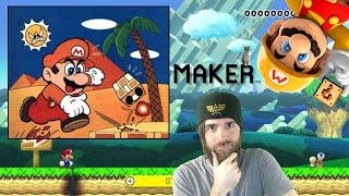 Mario Maker Blind Kaizo Race | 100 Super Expert | MARIO BROS 3 PB!! [55:35]