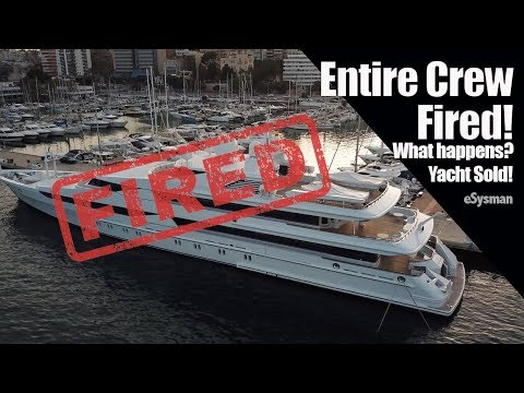 SuperYacht sold - What happened to the crew?