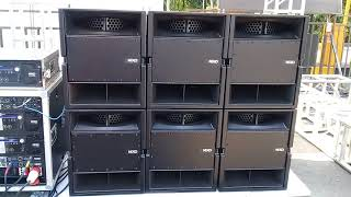 Video Subwofer & Line Array NEXO Sound System SMEX 4-5-2018 Surabaya download MP3, 3GP, MP4, WEBM, AVI, FLV Oktober 2018