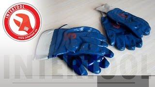Перчатки с полимерным покрытием нитрилом SP-0001, SP-0137. Обзор полимерных перчаток