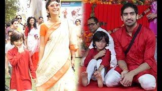 Aamir Khan's Cute Son Azad Khan's Adorable Moments With Mom Kiran Rao During Durga Pooja