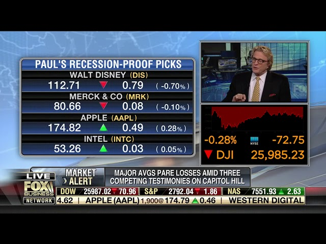 Paul Dietrich   Fox Business News 02 27 2019 Countdown to Closing Bell