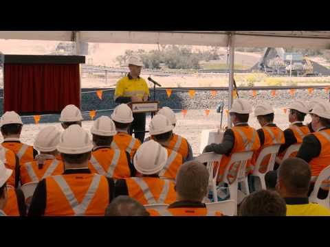 Whitehaven Coal Opening Ceremony Of Maules Creek Mine - Video 1