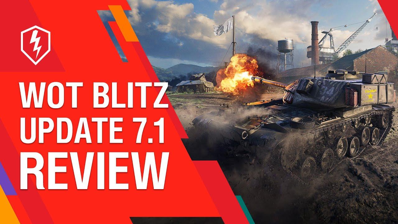 WoT Blitz. Update 7.1: New Map and Garage Improvements