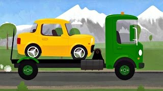 Çizgi film - Doktor Mac Wheelie - Sarı araba