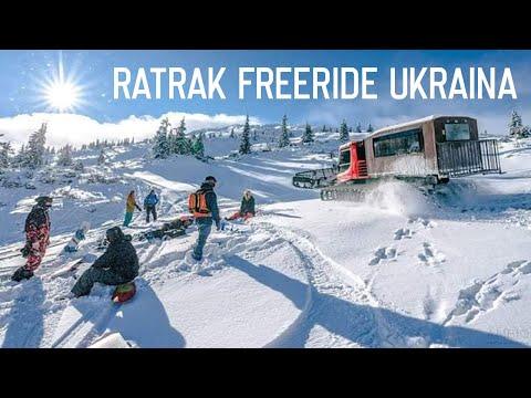 Ratrak Freeride Ukraina #1 - Dragobrat 2018