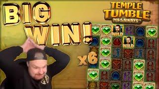 BIG WIN!!! Temple Tumble Big Win - Casino Games from CasinoDaddy LIVE STREAM