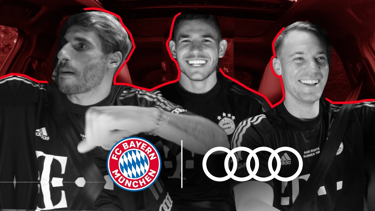 Audi X FC Bayern: Carpool Q&A with Neuer, Martinez and Hernandez