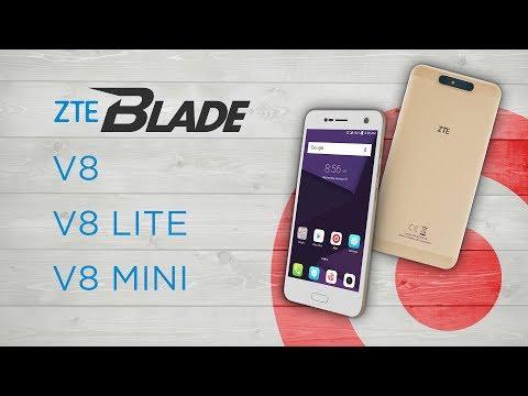 Обзор ZTE Blade V8 и сравнение смартфонов ZTE V8 Lite и ZTE V8 Mini