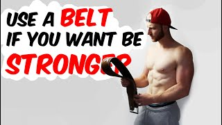 WEIGHT BELT SCIENCE EXPLAINED | Do they make you stronger? | 5 minutes