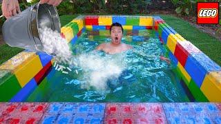 NTN - Thử Làm Bể Bơi Lego Dưới Lòng Đất (Build Underground Lego Swimming Pool)