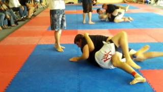 Brazilian Jiu-Jitsu Tournament No-Gi Match #1 (Ryan Cox)